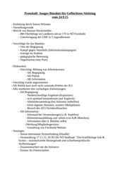 protokoll b ndnis 24 9 15