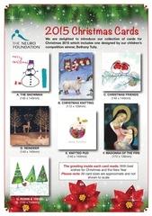 christmas card flyer 2015
