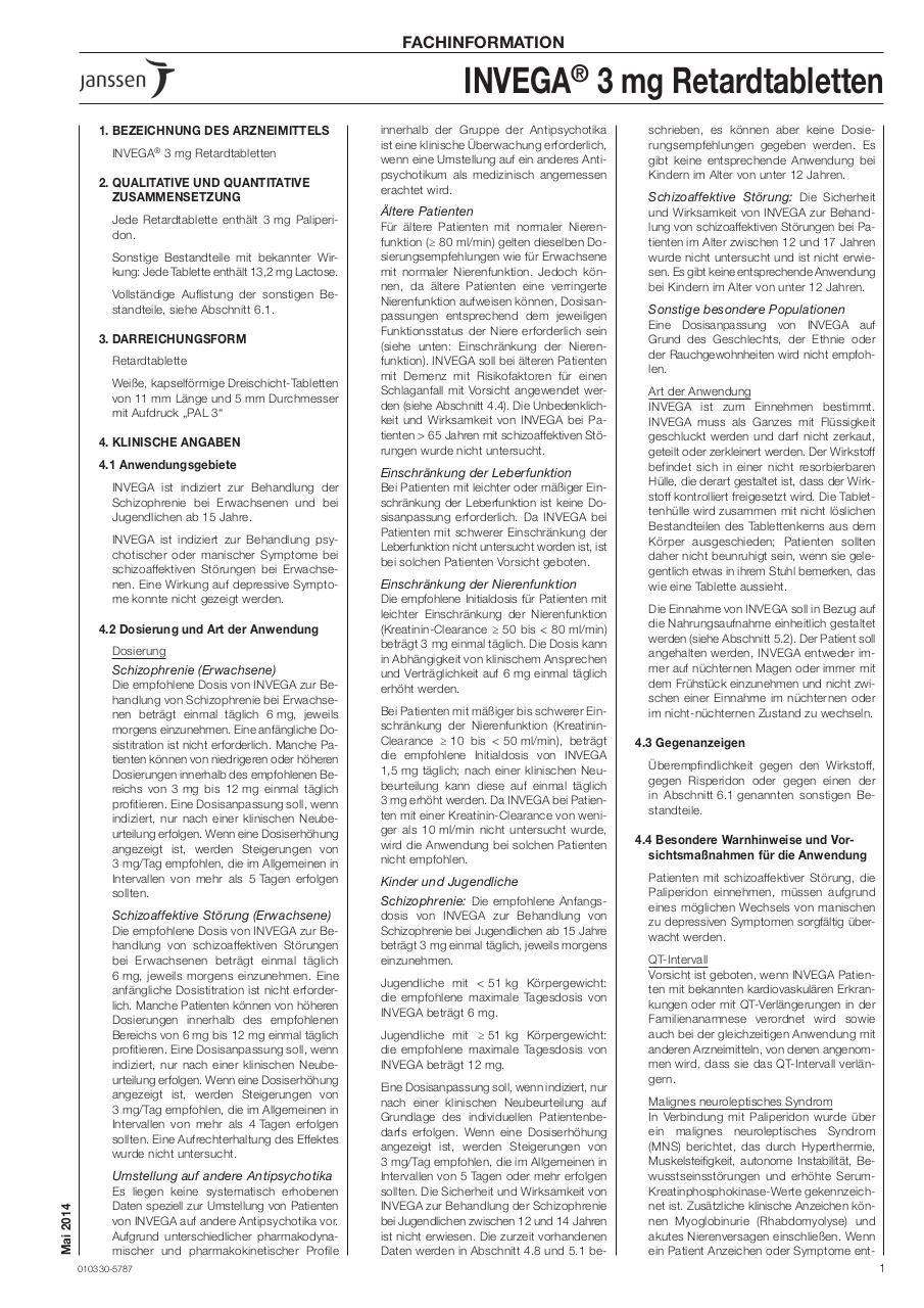 Fachinformation Invega.pdf - page 1/11