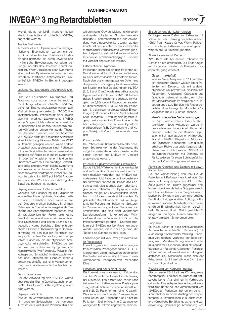 Fachinformation Invega.pdf - page 2/11