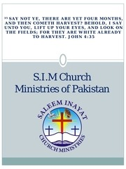 s i m ministry introduction