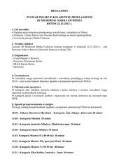 PDF Document regulamin ii memoria marka cichosza 2013 kopia