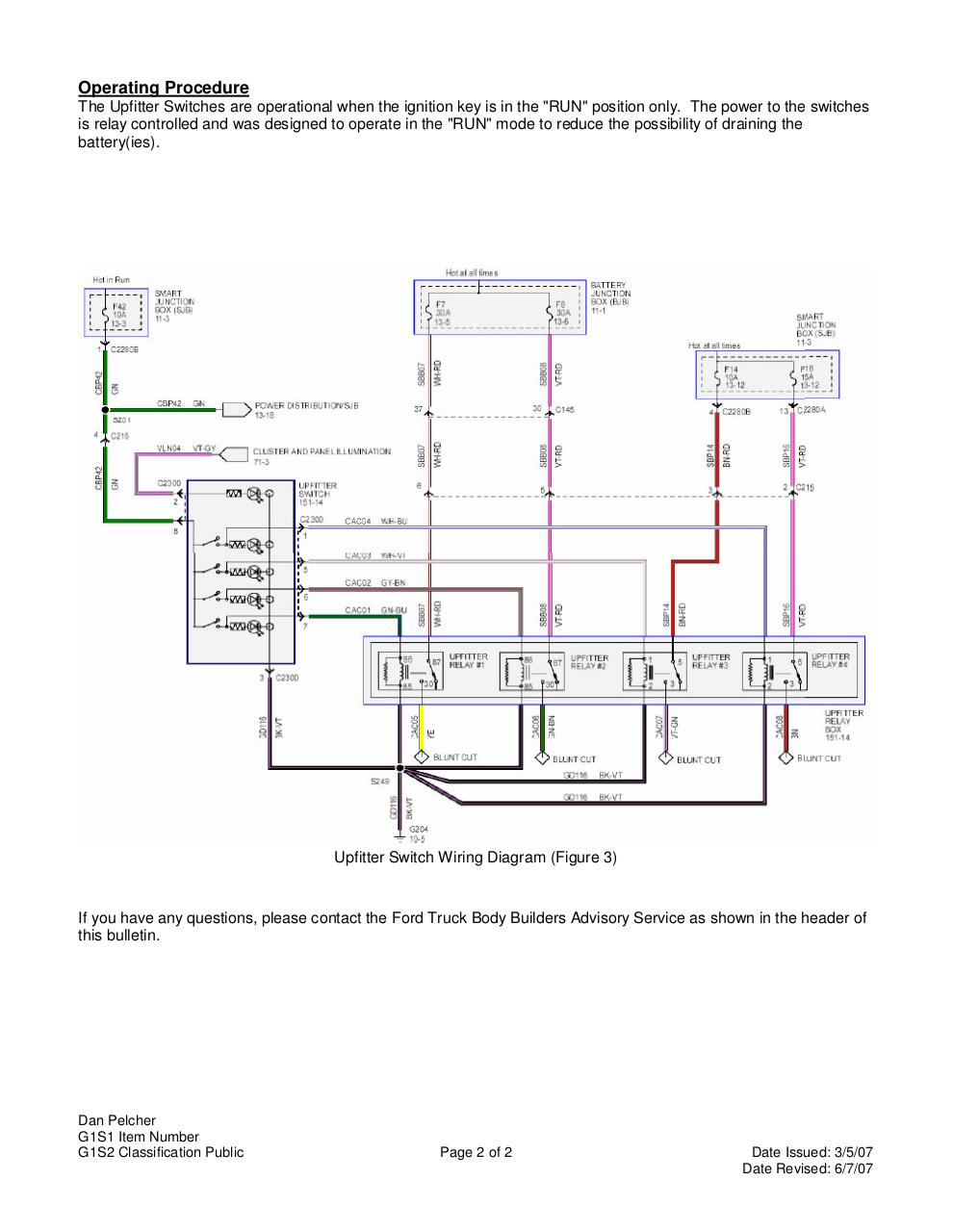 microsoft word q117 r1update doc q117r1 pdf pdf archive the four blunt cut wires are as follows switches aux 1 aux 2 aux 3 aux 4 circuit cac05 cac06 cac07 cac08