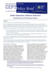 debt reduction without default