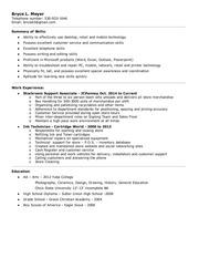 resume 10 9 15