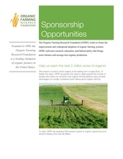 ofrf sponsor opportunities expo west final