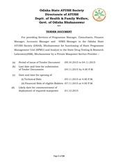 tender document dt 09 10 2015