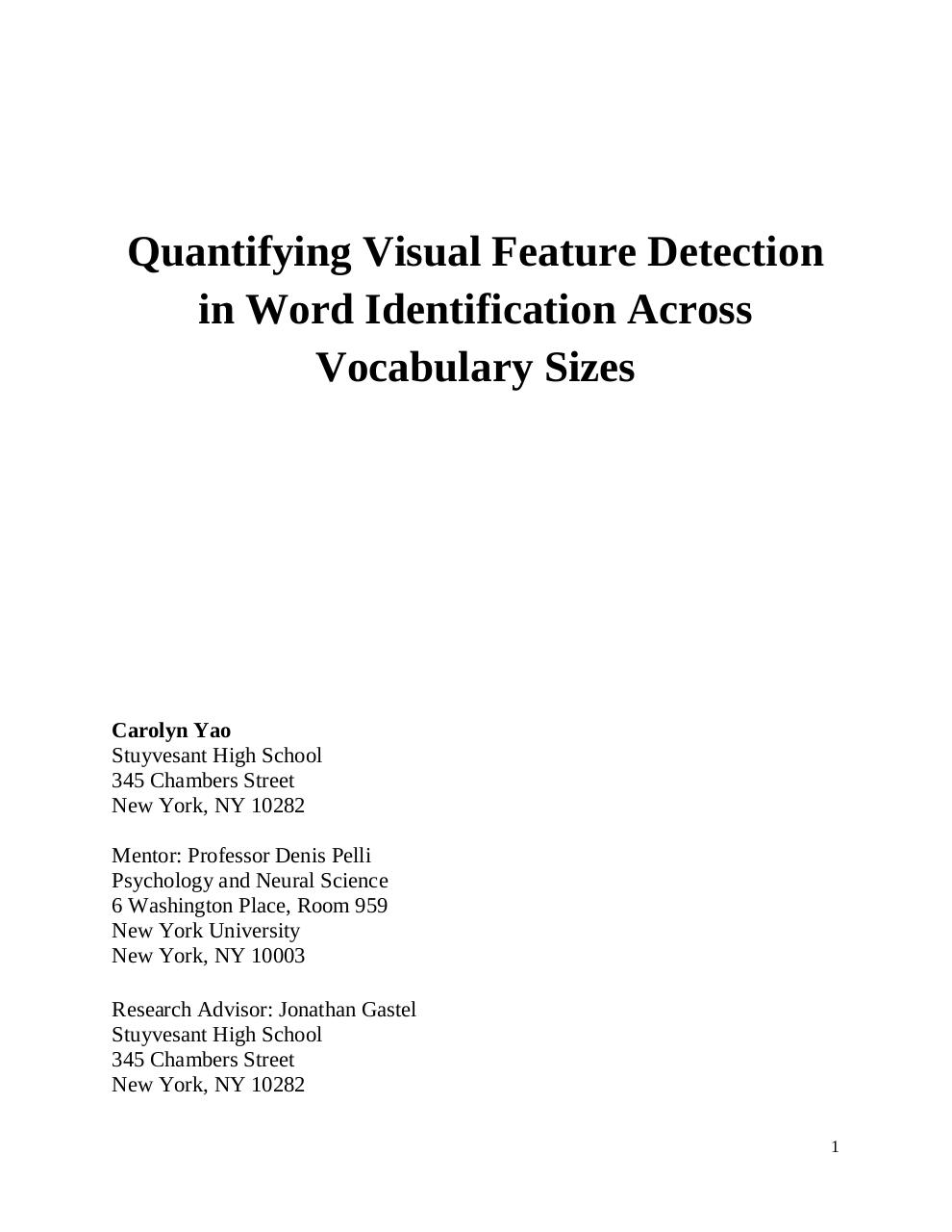 Quantifying Visual Feature Detection in Word Identification.pdf - page 1/21