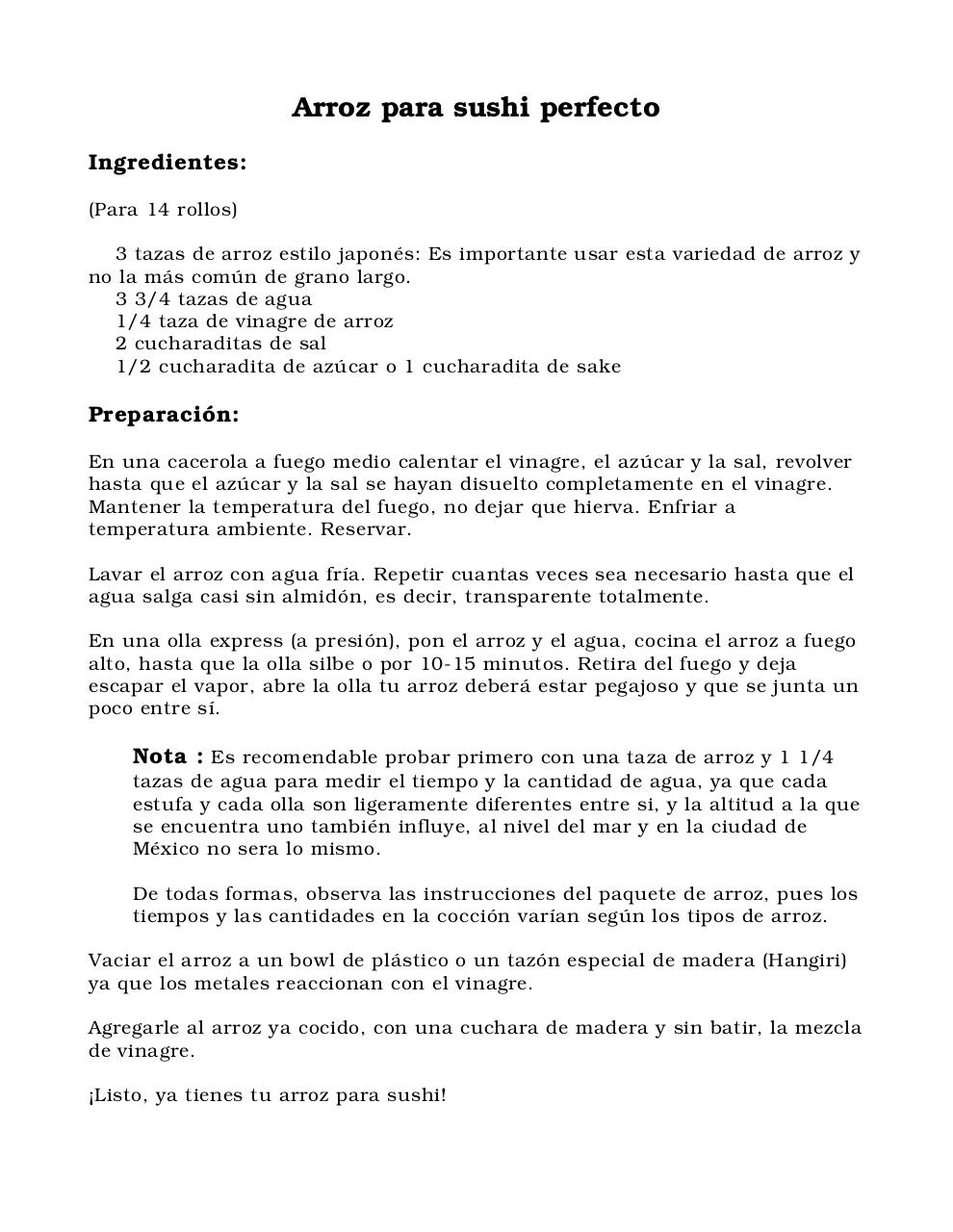 Document preview Arroz para sushi perfecto.pdf - page 1/1
