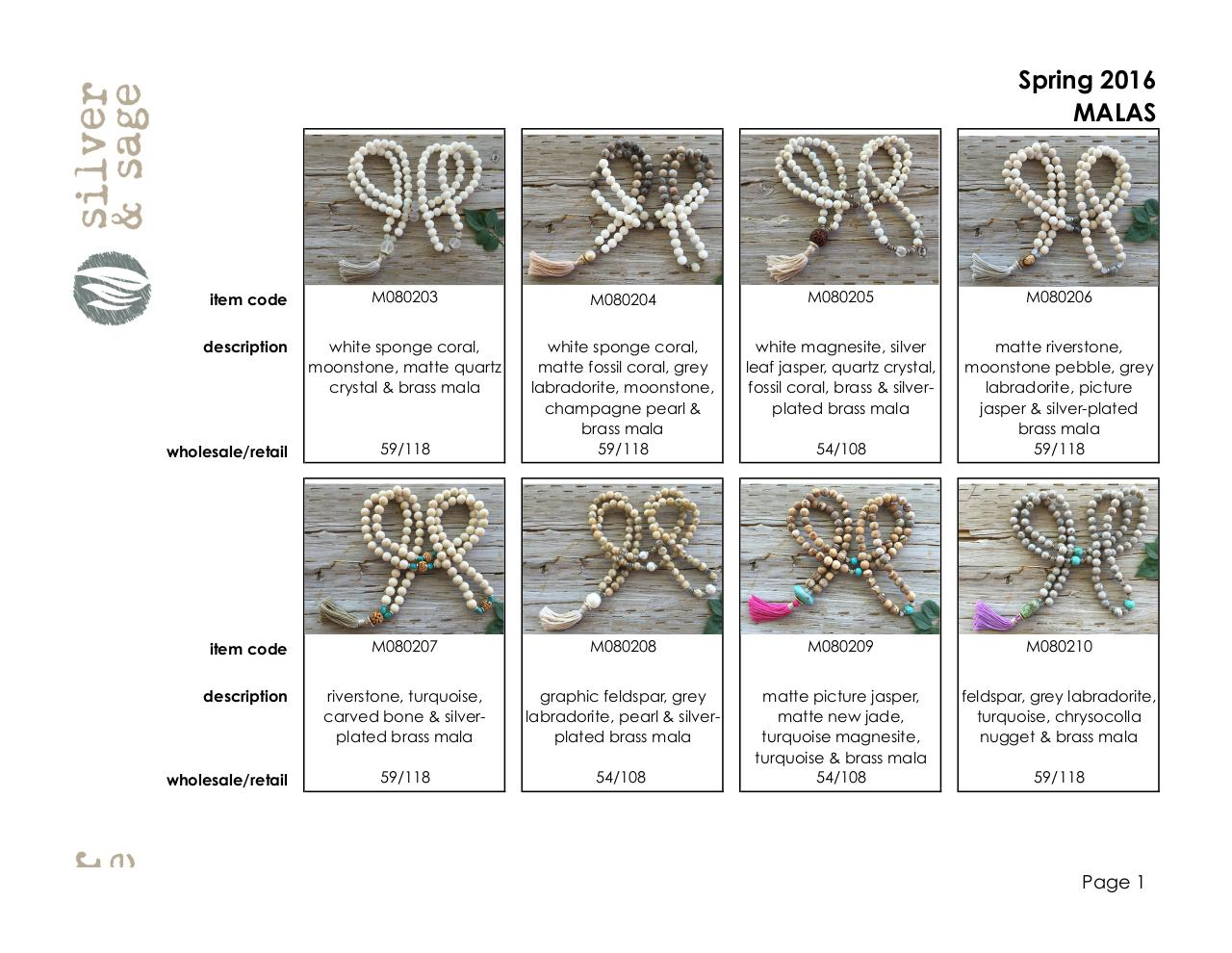 Completed LINE SHEETS- MALAS-SPRING 2016.pdf - page 1/4