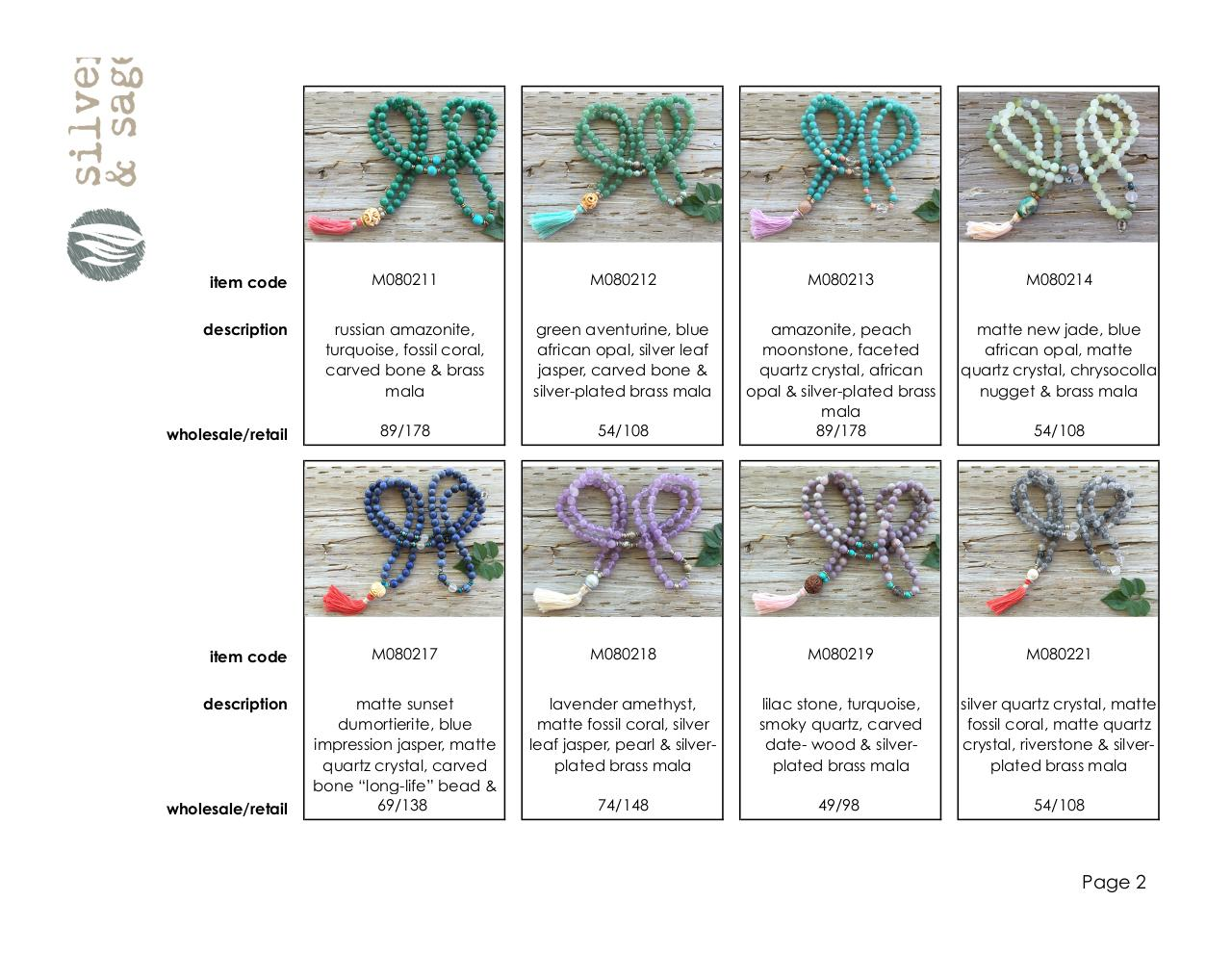 Completed LINE SHEETS- MALAS-SPRING 2016.pdf - page 2/4