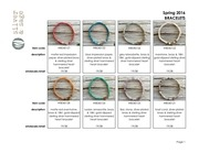 PDF Document line sheet bracelets spring 2016