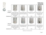 PDF Document line sheet necklaces spring 2016