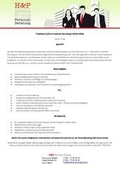 praktikum internes personalrecruiting lh 09