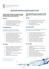 re restructuring consultant 21 10 2015