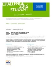 student challenge