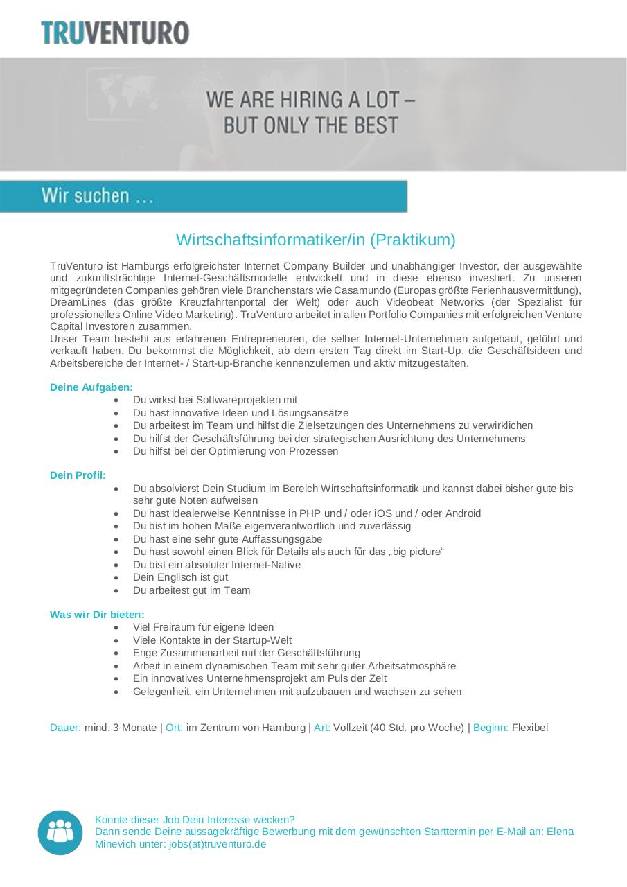 Document preview Wirtschaftsinformatiker Prakti.pdf - page 1/1