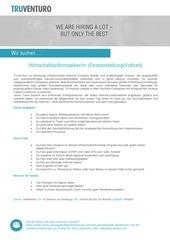 PDF Document wirtschaftsinformatikerin festanstellung