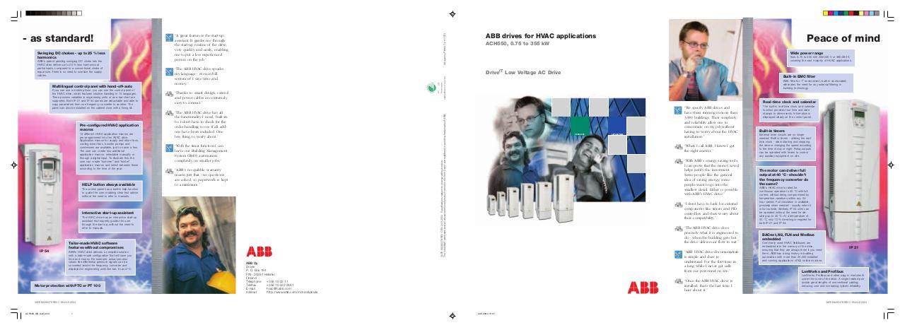ACH550 GB revC.pmd by Hellmrit - ABB ACH550 pdf - PDF Archive