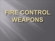 fire control weapons
