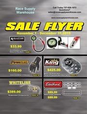 sales flyer november december