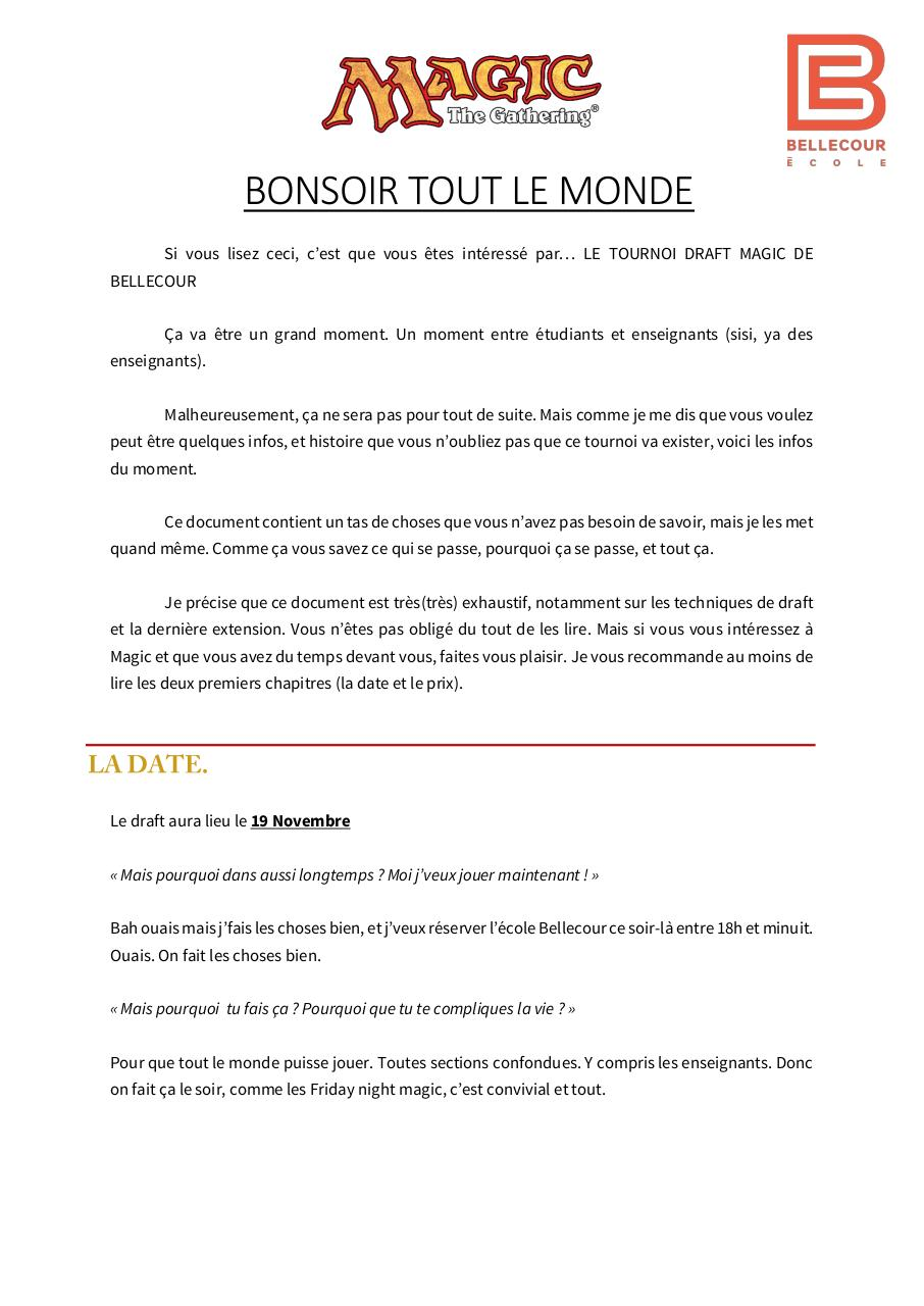 Draftbellecourinformations.pdf - page 1/67