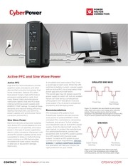 activepfc and sine wave ups systems cyberpower