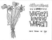 affirmations for women loving women zine
