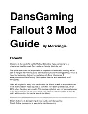dansgaming fallout 3 goty mod guide 3