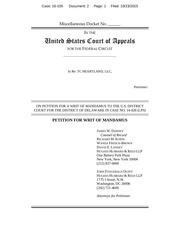 PDF Document tc heartland mandamus petition