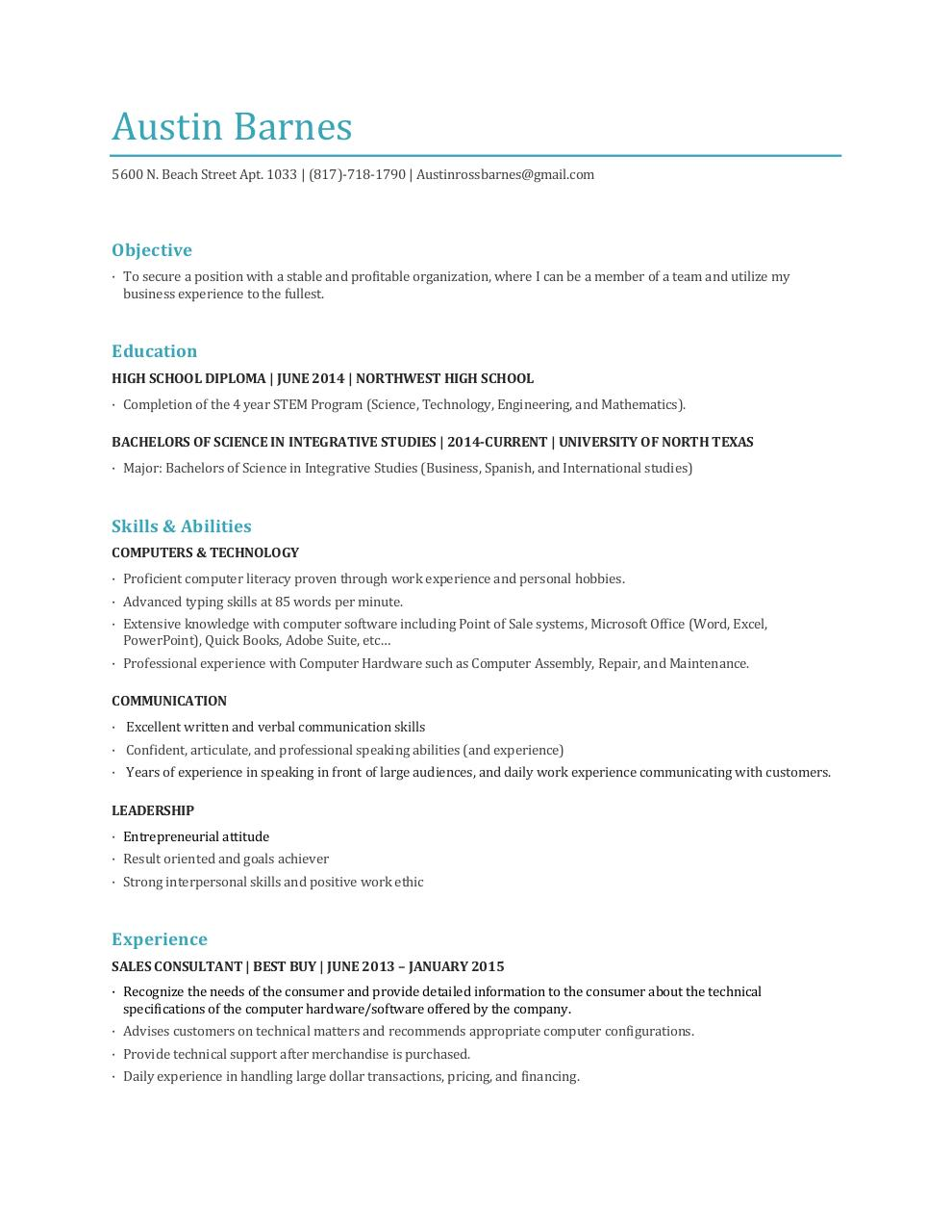 resume cover letter for high school students resume letter