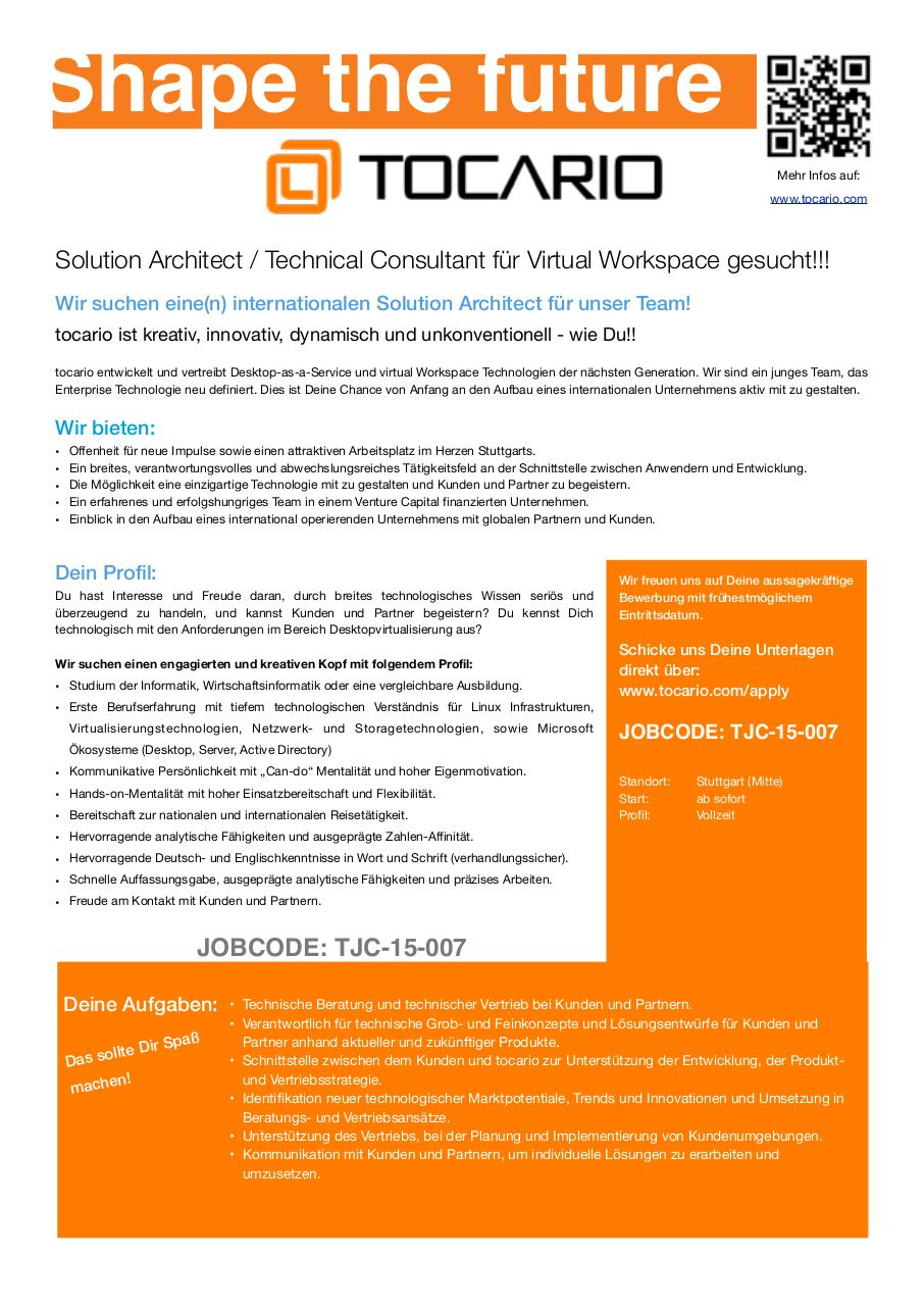 Document preview Solution Architect.pdf - page 1/1