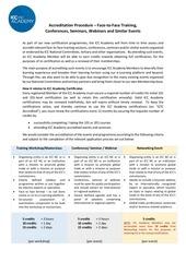 accreditation procedure icc academy