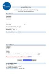 event accreditation form icc academy