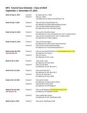 mf1 tutorial case schedule cl2018