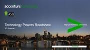 technology powers roadshow 3d scan