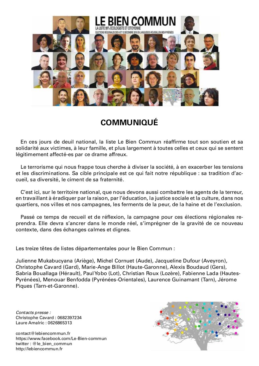 Document preview LeBienCommunCommuniqué.pdf - page 1/1