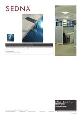 sedna lighting 2 pc led panel bracket spec sheet