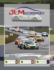 jlmotorsport 2016 promotional document
