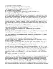 PDF Document questions