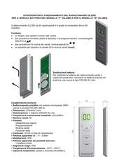 istruzioni radiocomando