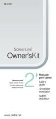 screenline istruzioni utente 2 it gb de fr