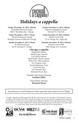 PDF Document chicagoacappella holidaysacappella2015