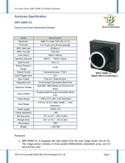 bmt 2098c cl summary cameralink line scan camera