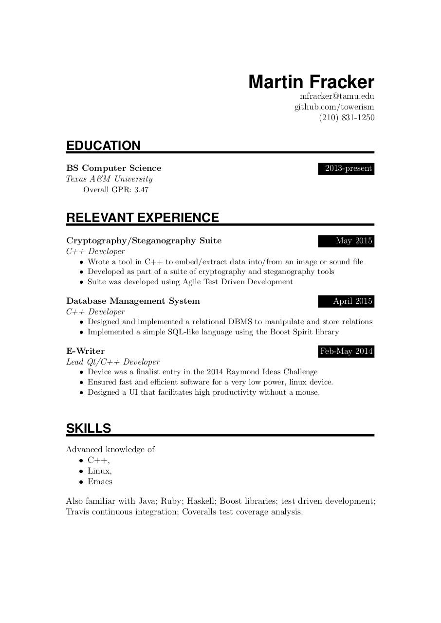 a professional resume pdf 2017 simple resume template