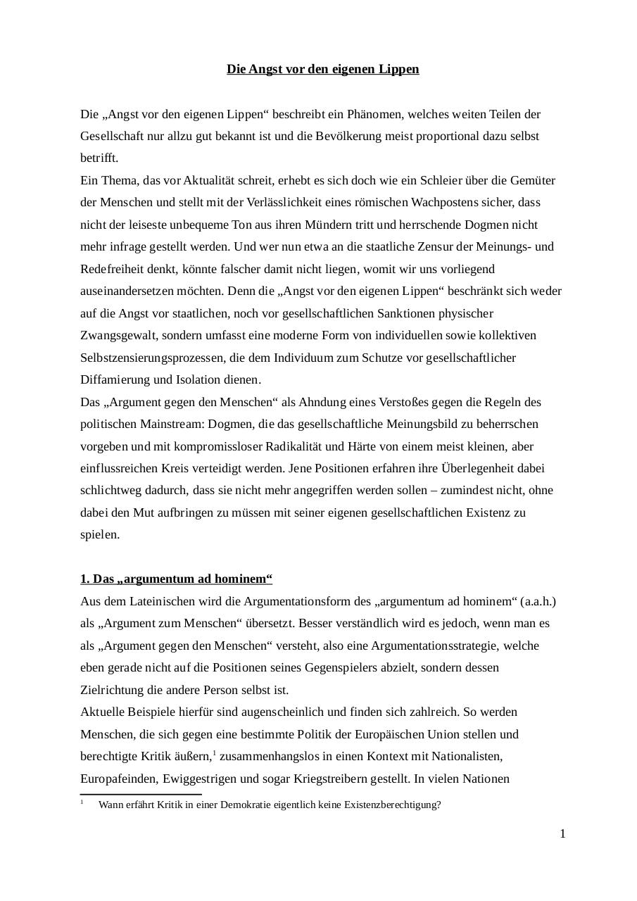 Preview of PDF document die-angst-vor-den-eigenen-lippen.pdf - Page 1/13