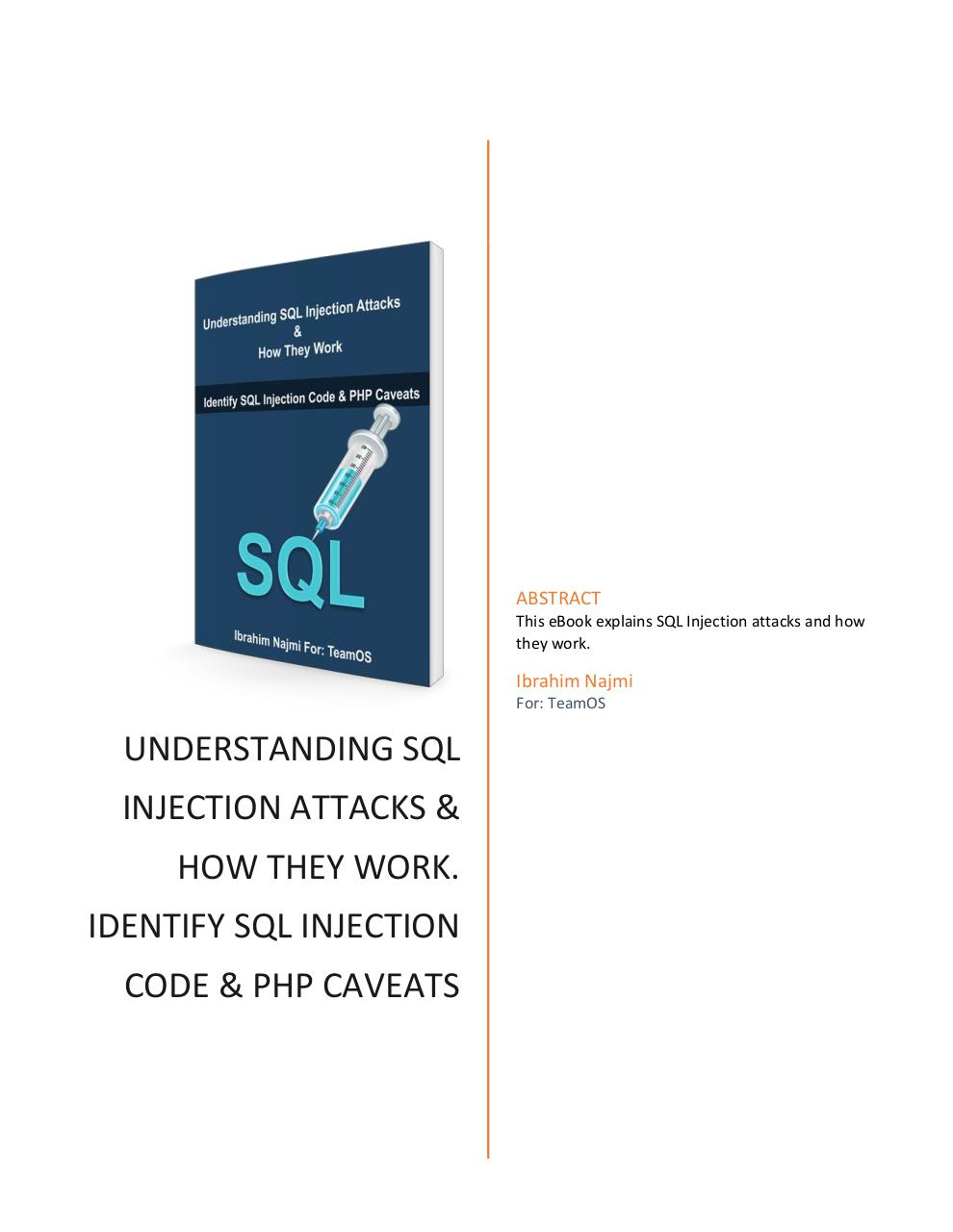 SQL Injection.pdf - page 1/6