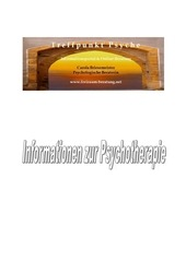 PDF Document infomappe psychotherapie