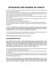 PDF Document attaining the fulness of christ