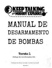 PDF Document keeptalking manual pt br r3d